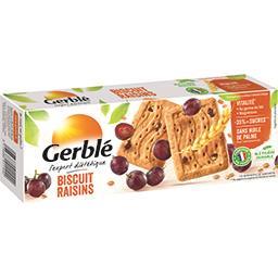 Gerblé Gerblé Biscuit raisins la boite de 16 biscuits - 270 g