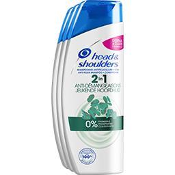 Shampooing anti-démangeaisons 2 en 1 - antipelliculaire