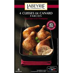 Cuisses de canard farcies cèpes et Armagnac