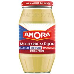 Amora Amora Moutarde de Dijon fine et forte le pot de 435g