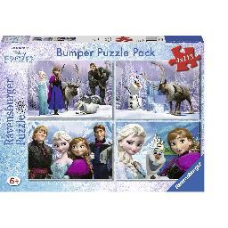 Bumper Puzzle Pack Disney Frozen