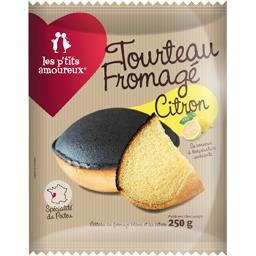 Les P'tits Amoureux Tourteau fromagé citron le paquet de 250 g