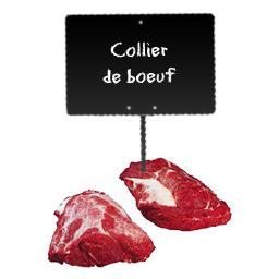 Collier de bœuf désossé