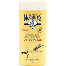 Le Petit Marseillais Le Petit Marseillais Crème de douche extra doux - Lait de vanille le flacon de 650ml