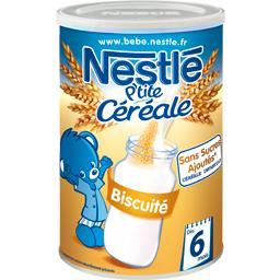 P'tite Céréale - Céréale biscuité, 6+ mois