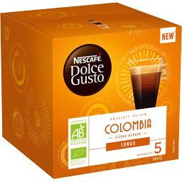 Dolce Gusto - Capsules de café Lungo Colombia BIO