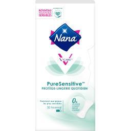 Nana Nana Protège-lingerie quotidien PureSensitive le paquet de 30