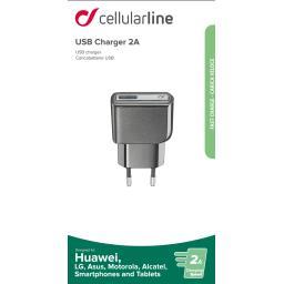 Chargeur secteur USB 2A