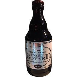 Bière brune aux prunneaux