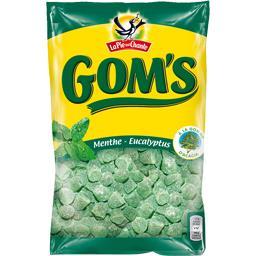 Bonbons Gom's menthe eucalyptus