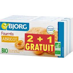 Bjorg Fourrés abricot BIO le lot de 2 paquets 525g