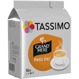 Tassimo Tassimo Grand' Mère - Capsules café Petit Déj' les 16 capsules de 8,3 g