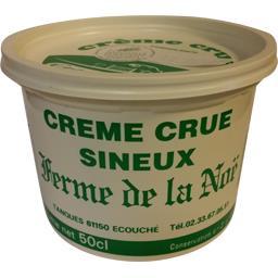 Crème crue sineux