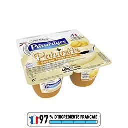 Paturette - Crème dessert saveur palet breton