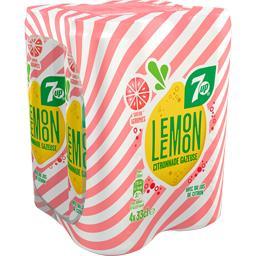 Citronnade gazeuse Lemon saveur agrumes