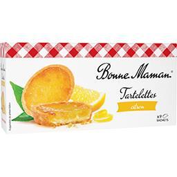 Bonne Maman Bonne Maman Tartelettes citron le paquet - 125 g