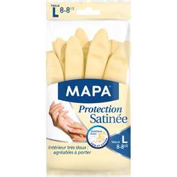 Mapa Mapa Gants Protection Satinée taille L la paire
