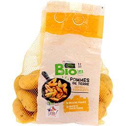 Pommes de terre BIO vapeur et rissolées