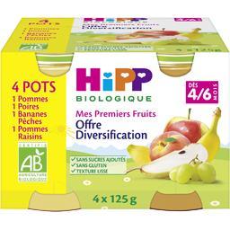 Mes Premiers Fruits - Purée de fruits BIO, dès 4/6 m...