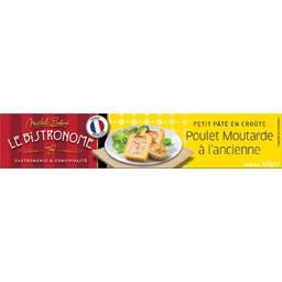 Le bistronome, petit pâté en croûte poulet et moutarde à l'ancienne, le paquet de 450g