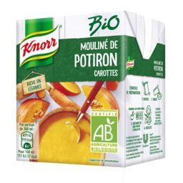 Knorr Knorr Mouliné de potiron carottes BIO la brique de 0,3 l