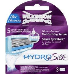Recharges lames spécial courbes Hydro Silk