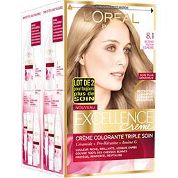 Excellence Crème - Crème colorante Blond Clair Cendré 8.1
