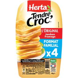 Tendre Croc' - Croque-monsieur L'Original jambon fro...
