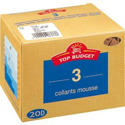 Collants mousse - 20D -daim T3