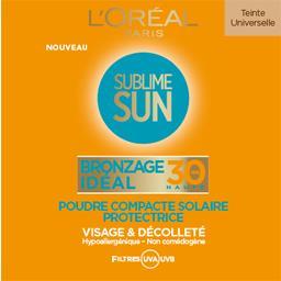 Poudre compacte solaire Sublim Sun Bronzage Idéal FP...