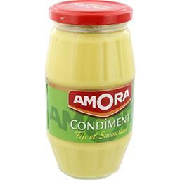 Amora Amora Condiment fin et savoureux le bocal de 430 g