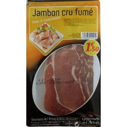 Jambon cru fumé