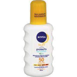 Sun - Crème solaire Protect & Sensitive FPS 50