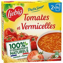 Liebig Liebig PAstaSoup - Soupe tomates & vermicelles les 2 briques de 30cl
