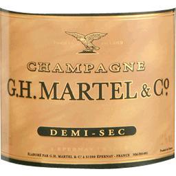 Champagne Demi-sec C. Martel