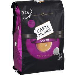 Dosettes de café moulu Corsé n°6