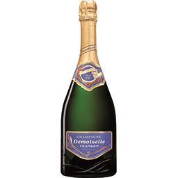 Brut Demoiselle eo Champagne brut, demoiselle eo La bouteille de 75cl
