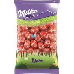 Milka Œufs en chocolat au lait Daim