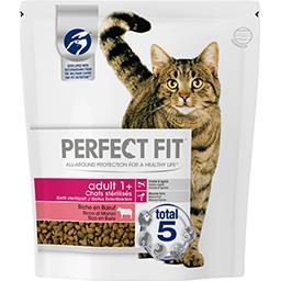 Perfect Fit Perfect fit Croquettes riche en bœuf Adult 1+ pour chats stérilisés le sac de 1,4 kg