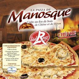 Pizza au chevre label rouge