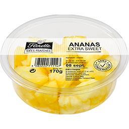 Florette Florette Idées Fraîches - Ananas extra Sweet la barquette de 170 g