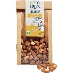 Cacahuètes caramélisées Chouchous BIO