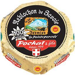 Pochat & Fils Pochat Reblochon de Savoie AOP La Pointe Percée le fromage de 240 g
