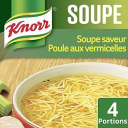 Knorr Knorr Poule aux vermicelles le sachet de 63 g