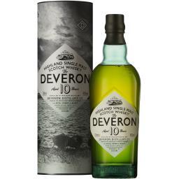 Glen Deveron Glen Deveron Whisky Highland single malt, 10 ans d'âge l'étui de 70 cl