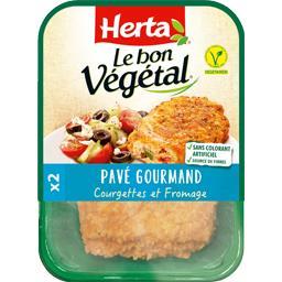 Le Bon Végétal - Pavé gourmand courgettes et fromage