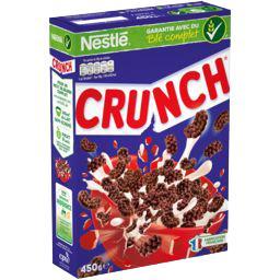 Nestlé Nestlé Céréales Crunch - Céréales au chocolat la boite de 450 g