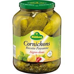 Cornichons aigres-doux recette Paysanne