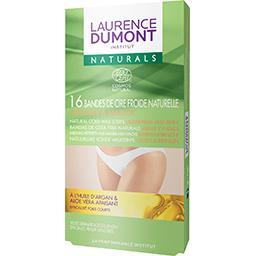 Laurence Dumont Laurence Dumont Cire froide naturals aisselles et maillot la boîte de 16 bandes