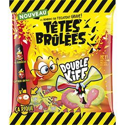 Têtes Brûlées Têtes Brûlées Bonbons Double Kiff le paquet de 180 g